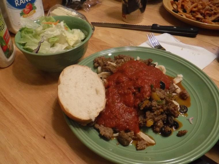 Maddie Pasta Italian Sausage
