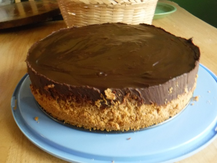 chocolate truffle cheesecake 1