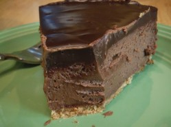 chocolate truffle cheesecake 2