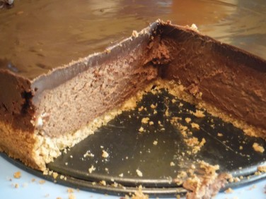 chocolate truffle cheesecake