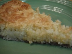 coconut custard pie 1